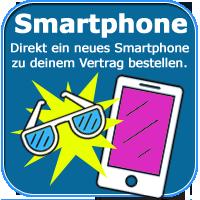 Günstiger Vertrag mit Smartphone bestellen