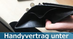 Handyvertrag unter 10 Euro
