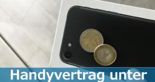 Günstiger Handyvertrag unter 20€